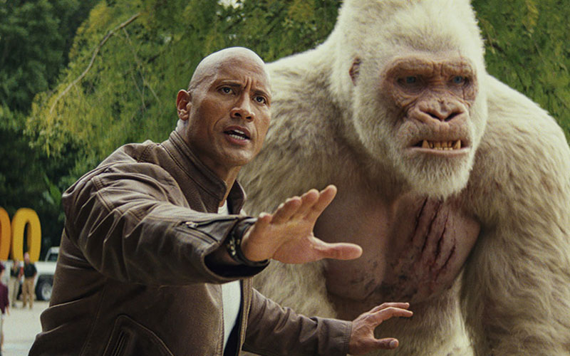 CINE. Proyecto Rampage